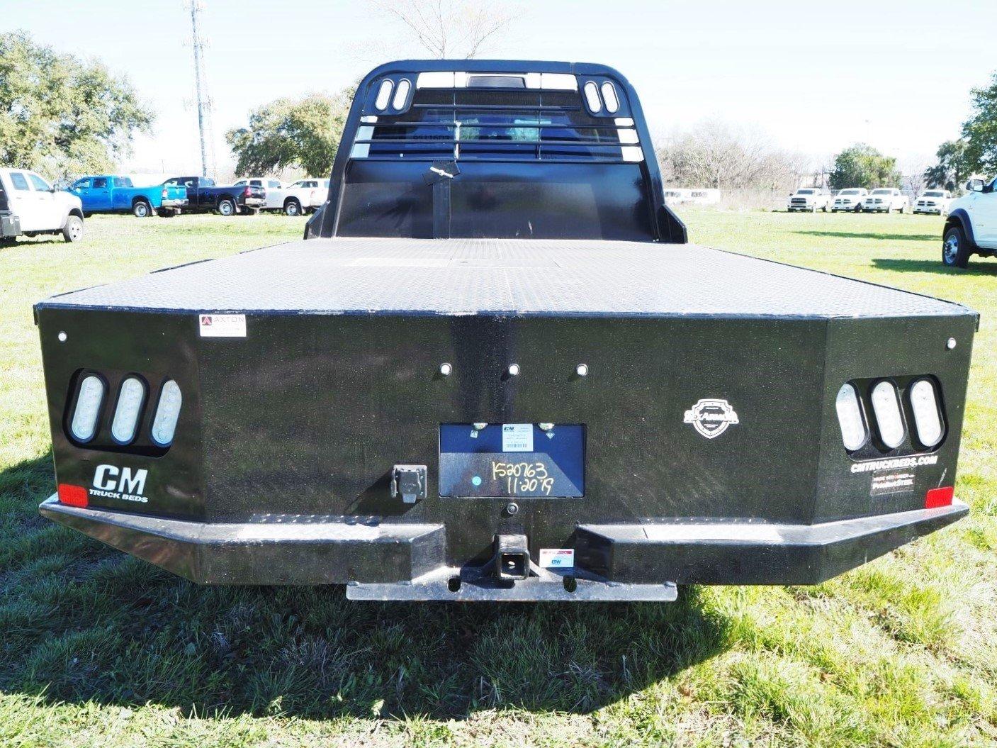 2020 Ram 5500 Crew Cab DRW 4x4, CM Truck Beds SK Model Flatbed #TG119712 - photo 10