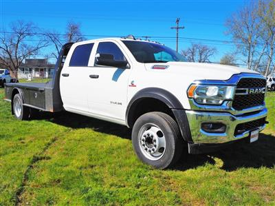 2020 Ram 5500 Crew Cab DRW 4x4, CM Truck Beds SK Model Flatbed #TG119712 - photo 2