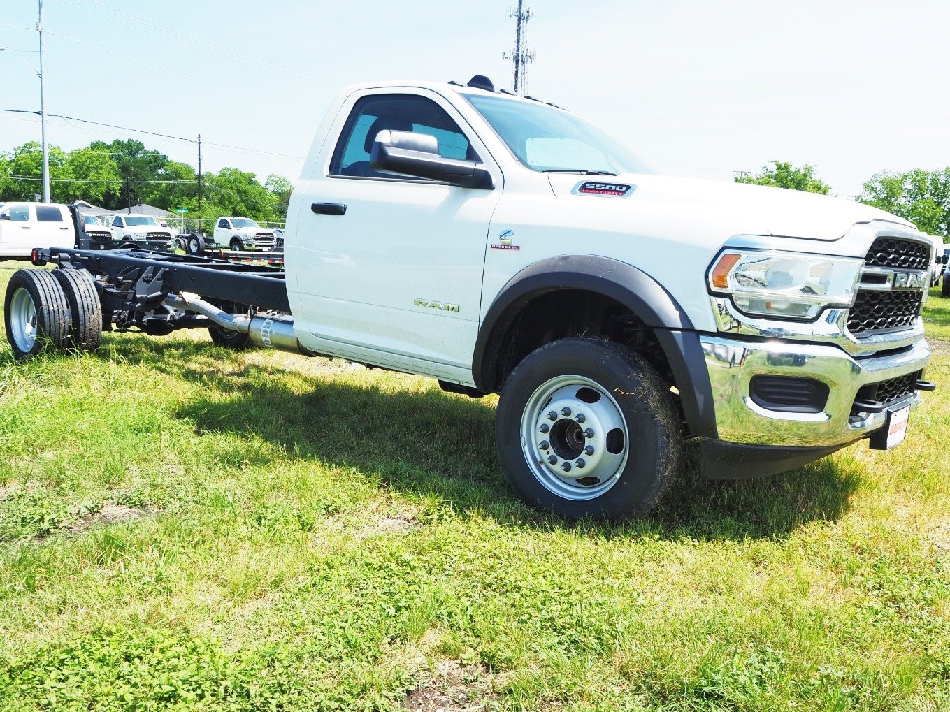 2020 Ram 5500 Regular Cab DRW 4x2, Cab Chassis #TG127294 - photo 1