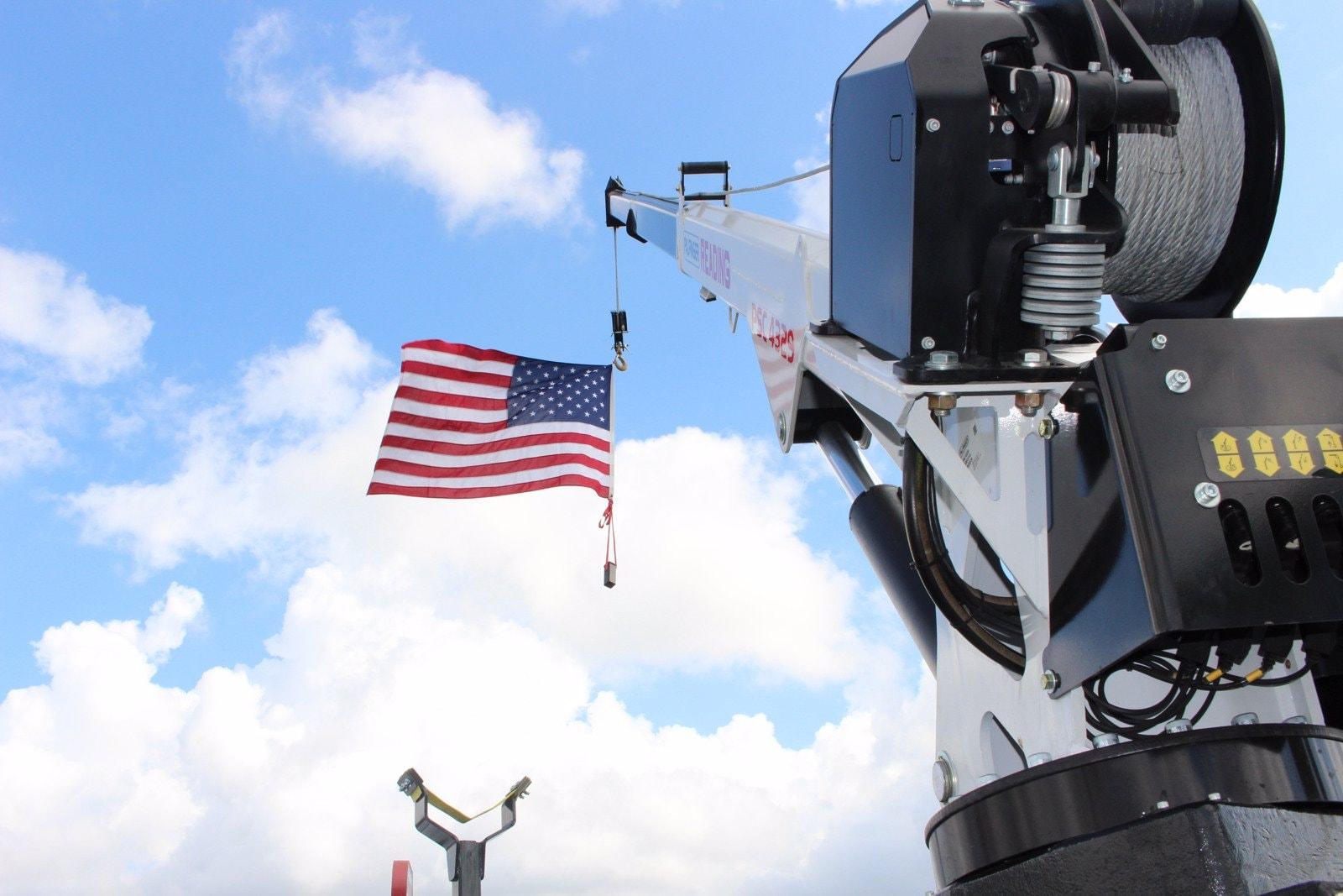 2020 Ram 5500 Crew Cab DRW 4x4, Reading Master Mechanic HD Crane Service Body #TG130027 - photo 13