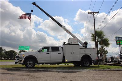 2020 Ram 5500 Crew Cab DRW 4x4, Reading Master Mechanic HD Crane Service Body #TG130027 - photo 1