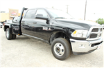 2018 Ram 3500 Crew Cab DRW 4x4,  Flatbed #TG134247 - photo 1