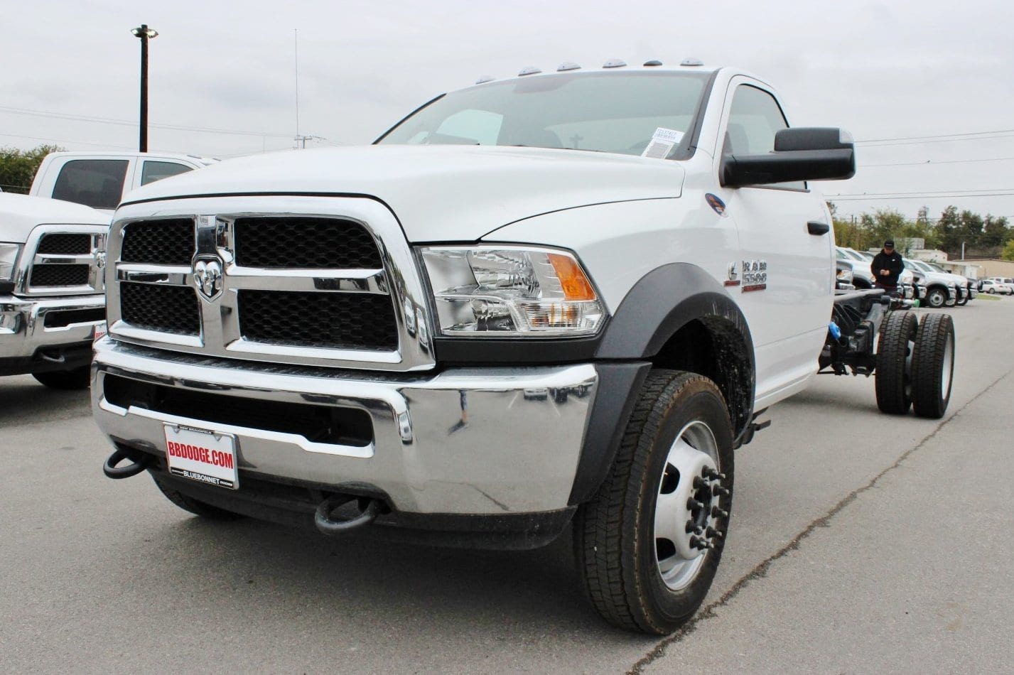 2018 Ram 5500 Regular Cab DRW Cab Chassis #TG137417 - photo 3