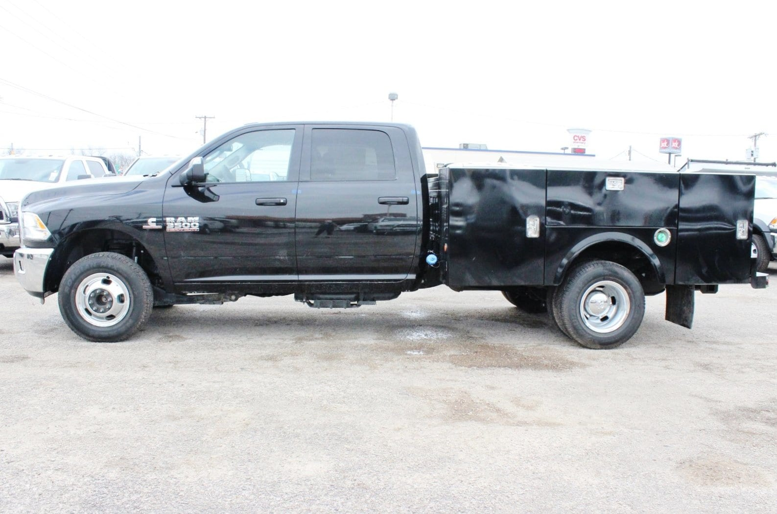 2018 Ram 3500 Crew Cab DRW 4x4,  Stahl Service Body #TG139302 - photo 4