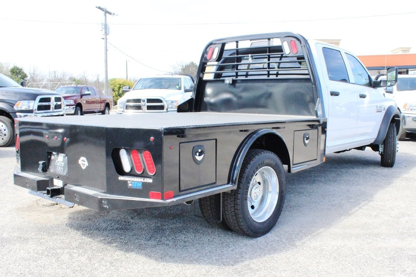 2018 Ram 5500 Crew Cab DRW 4x4, Flatbed #TG145667 - photo 2