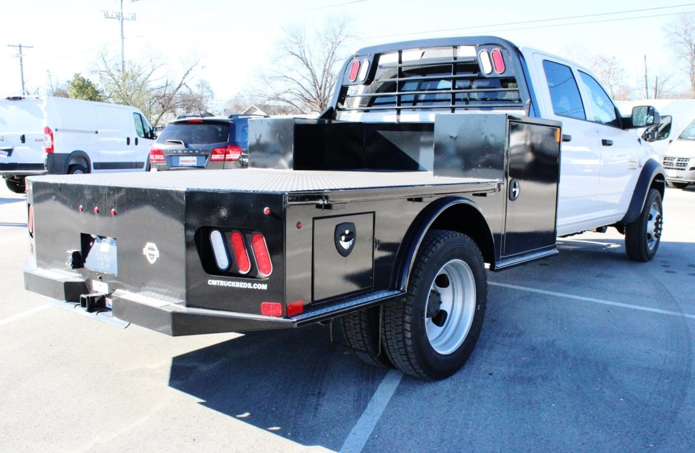 2018 Ram 5500 Crew Cab DRW 4x4, Hauler Body #TG145678 - photo 2