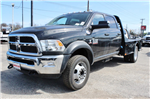 2018 Ram 5500 Crew Cab DRW 4x4, Flatbed #TG145680 - photo 1