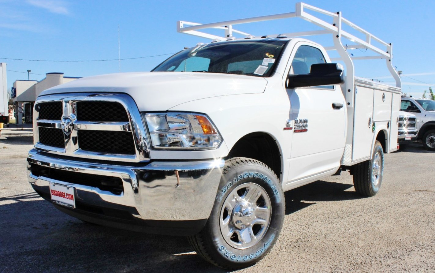 2018 Ram 2500 Regular Cab 4x4, Service Body #TG150639 - photo 3