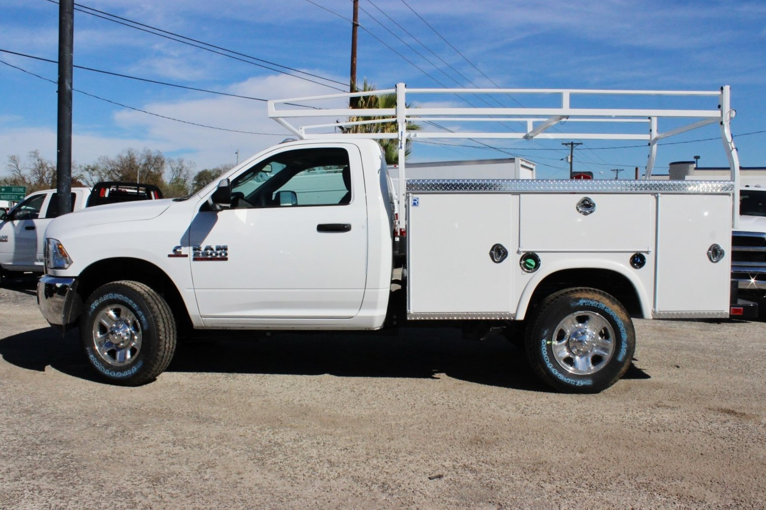 2018 Ram 2500 Regular Cab 4x4, Royal Service Body #TG150639 - photo 4