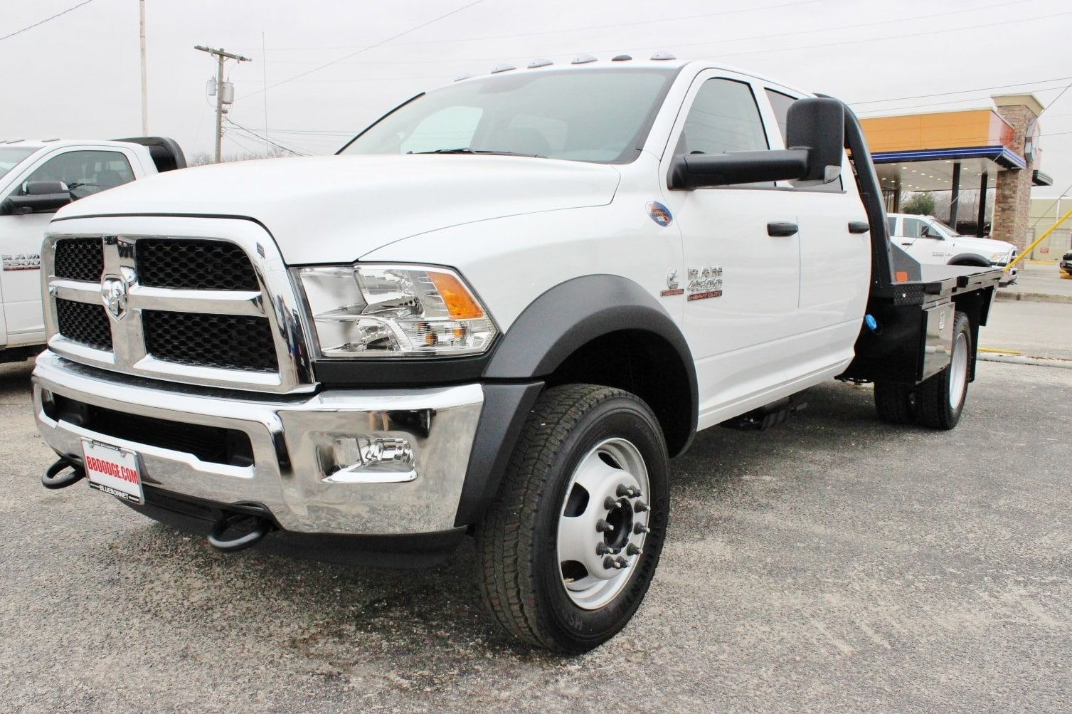 2018 Ram 4500 Crew Cab DRW 4x4, CM Truck Beds RD Model Flatbed #TG157702 - photo 3
