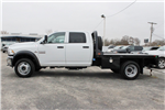 2018 Ram 4500 Crew Cab DRW 4x4, CM Truck Beds RD Model Flatbed #TG157702 - photo 4