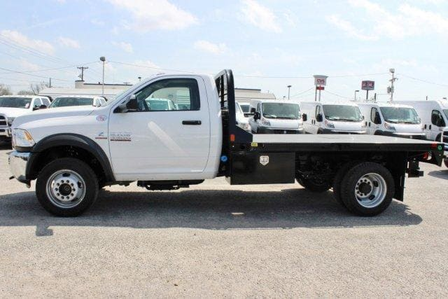 2018 Ram 5500 Regular Cab DRW 4x4,  CM Truck Beds Flatbed #TG185442 - photo 4
