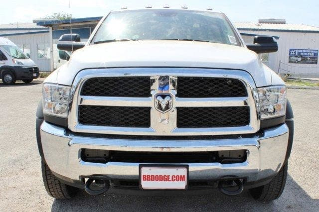 2018 Ram 5500 Regular Cab DRW 4x4,  CM Truck Beds Flatbed #TG185442 - photo 5
