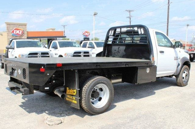 2018 Ram 5500 Regular Cab DRW 4x4,  CM Truck Beds Flatbed #TG185442 - photo 2