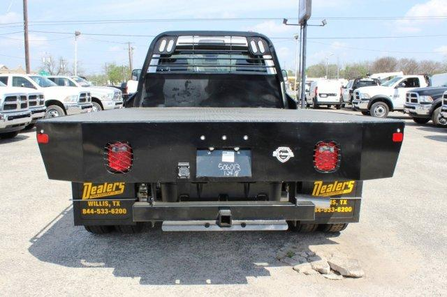 2018 Ram 5500 Regular Cab DRW 4x4,  CM Truck Beds Flatbed #TG185442 - photo 3