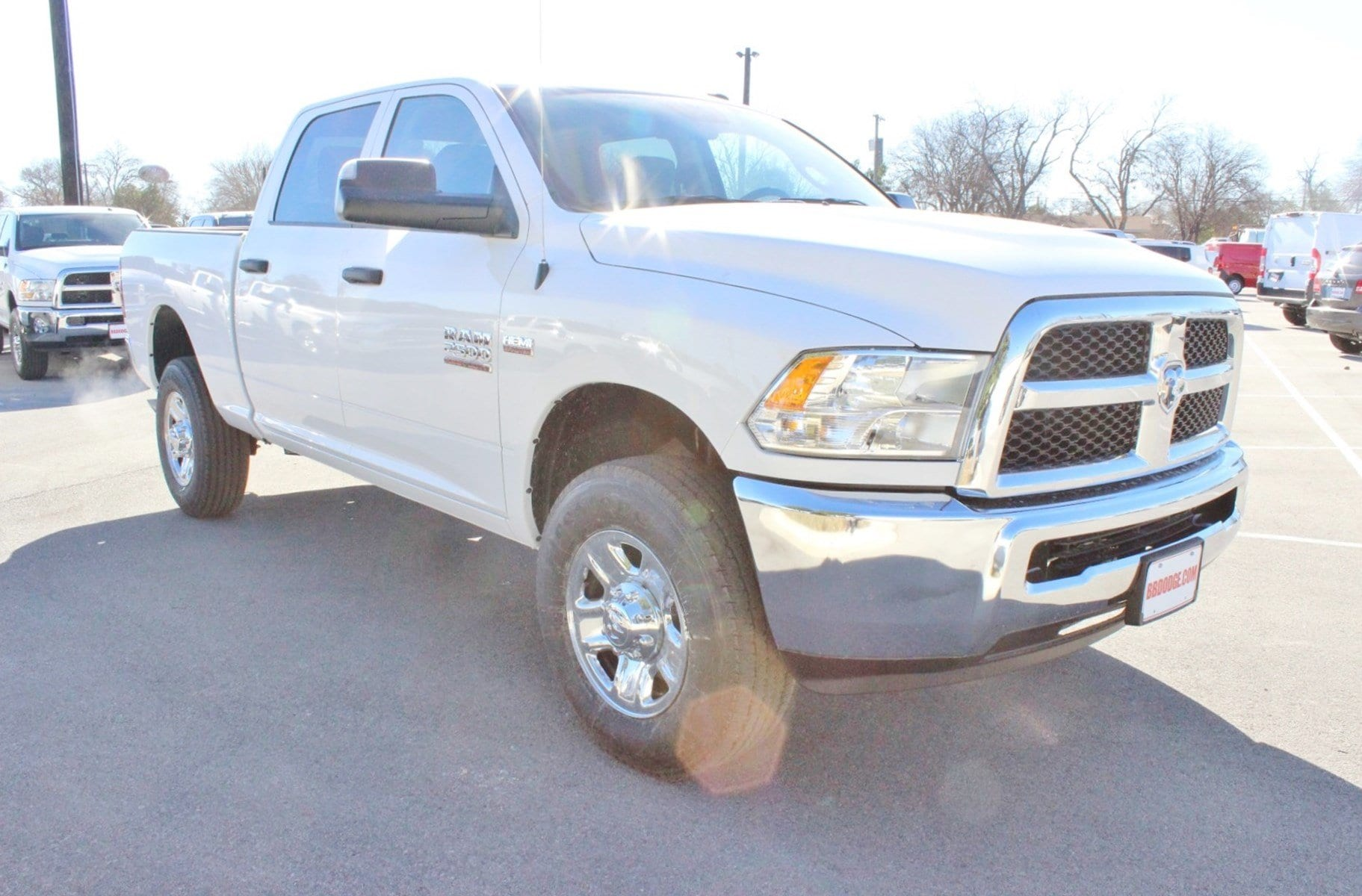 2018 Ram 2500 Crew Cab 4x4, Pickup #TG206999 - photo 1
