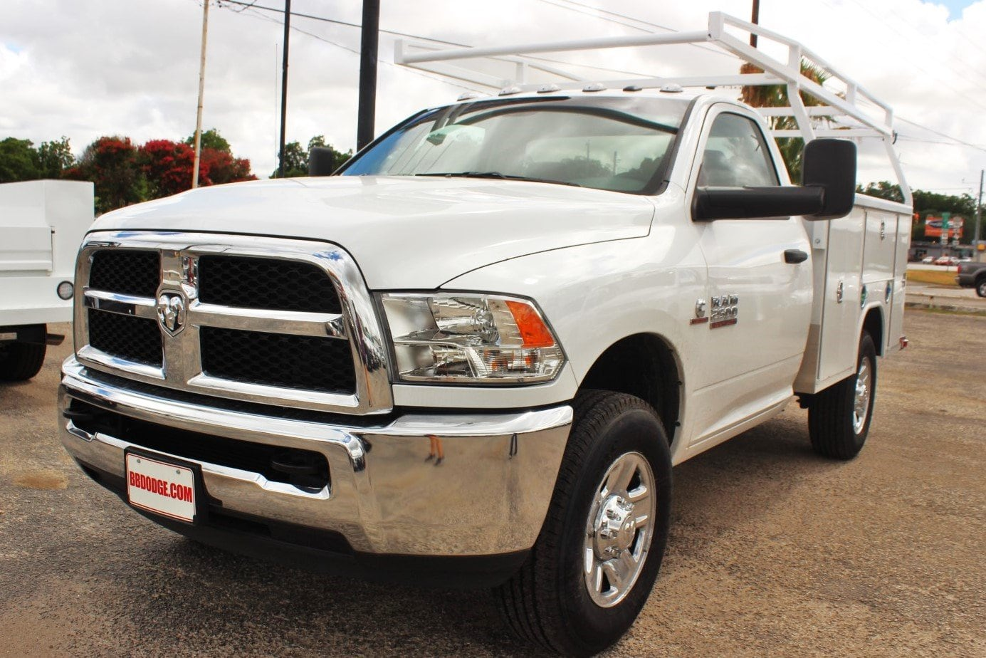 2018 Ram 2500 Regular Cab 4x4,  Harbor Service Body #TG211305 - photo 3