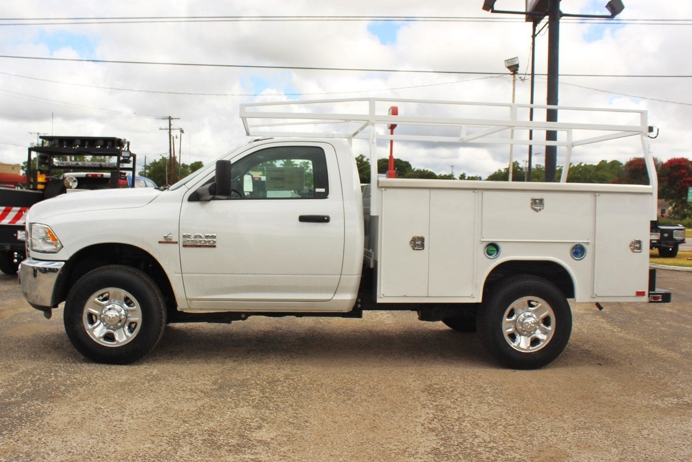2018 Ram 2500 Regular Cab 4x4,  Service Body #TG211305 - photo 4