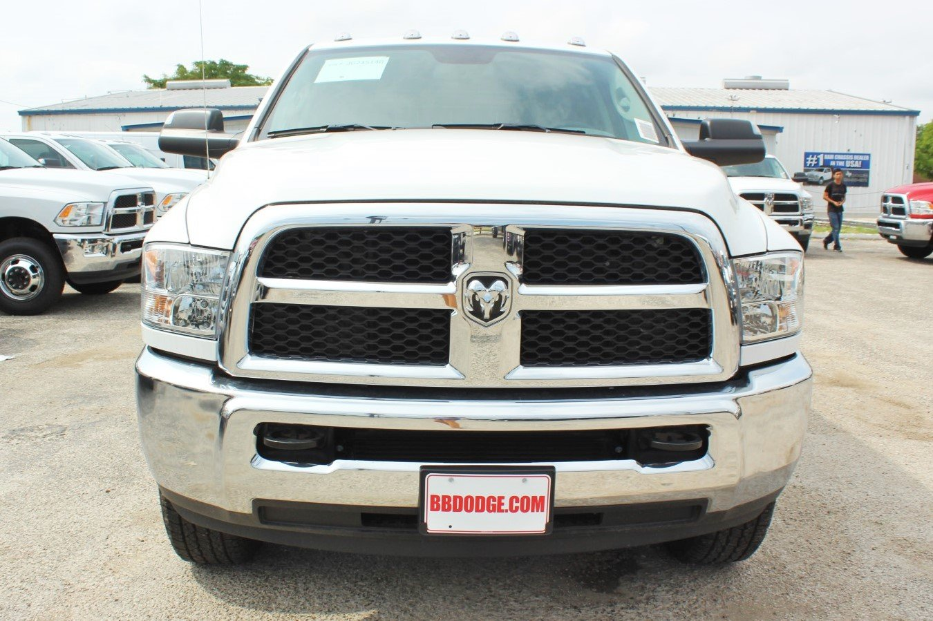 2018 Ram 3500 Crew Cab 4x4,  Hauler Body #TG215140 - photo 5