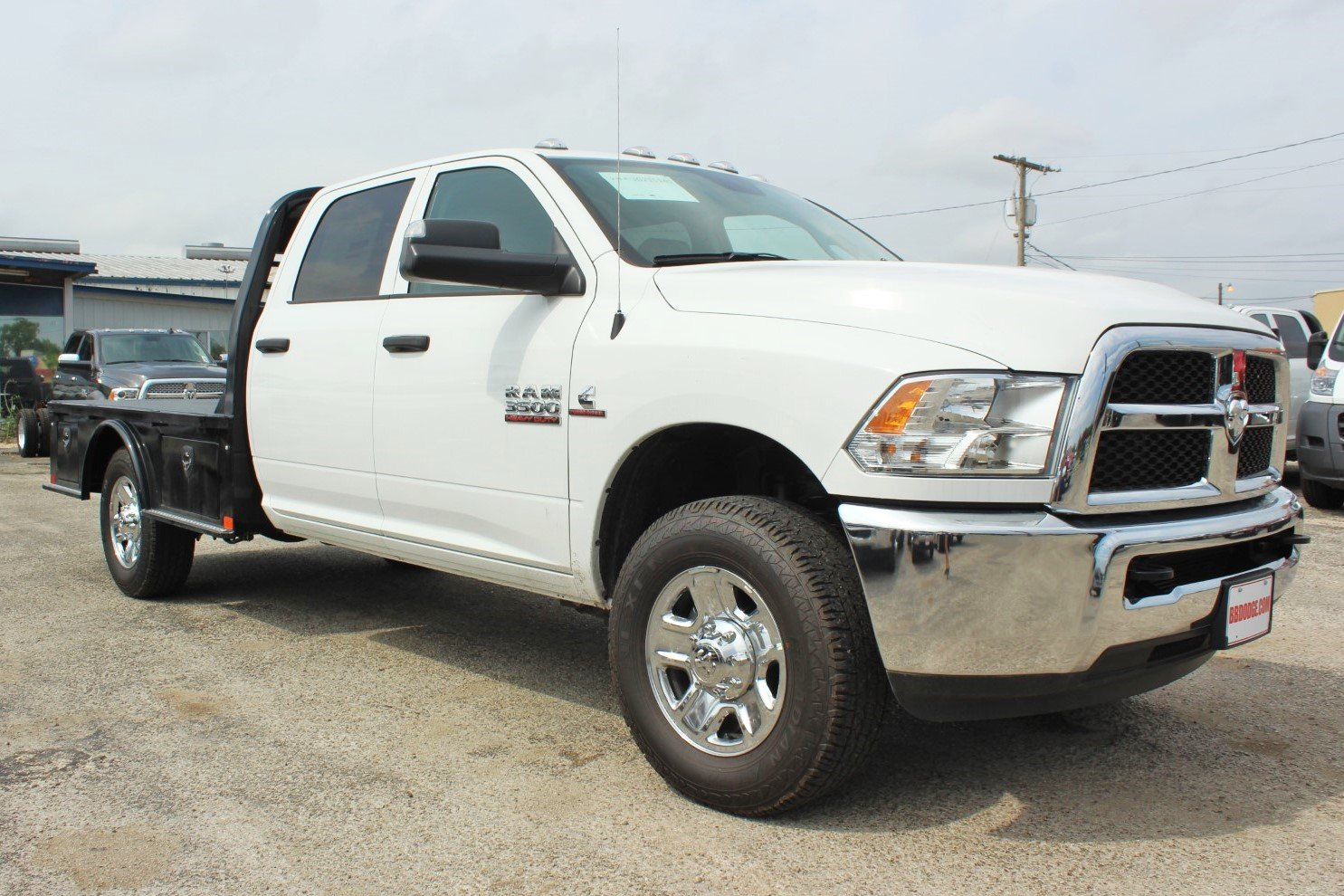 2018 Ram 3500 Crew Cab 4x4,  Cab Chassis #TG215140 - photo 4