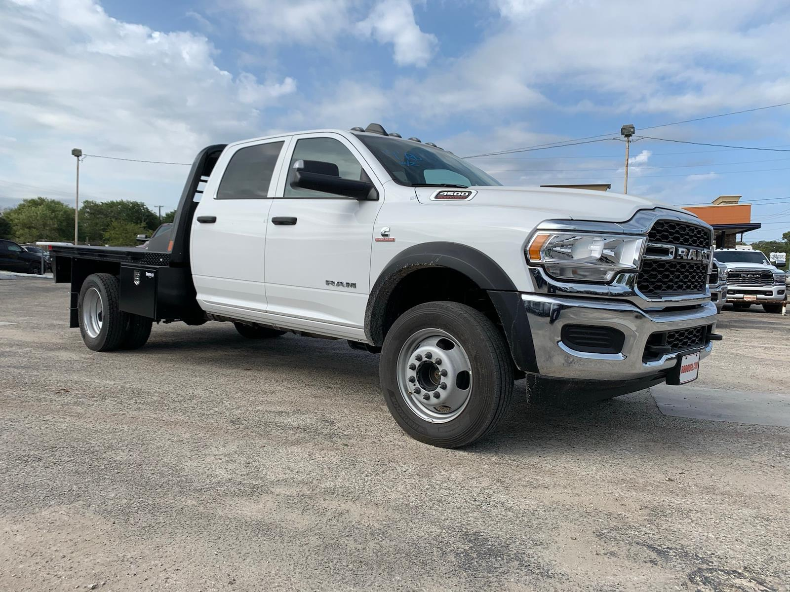 New 2020 Ram 4500 Flatbed For Sale In New Braunfels Tx Tg223462