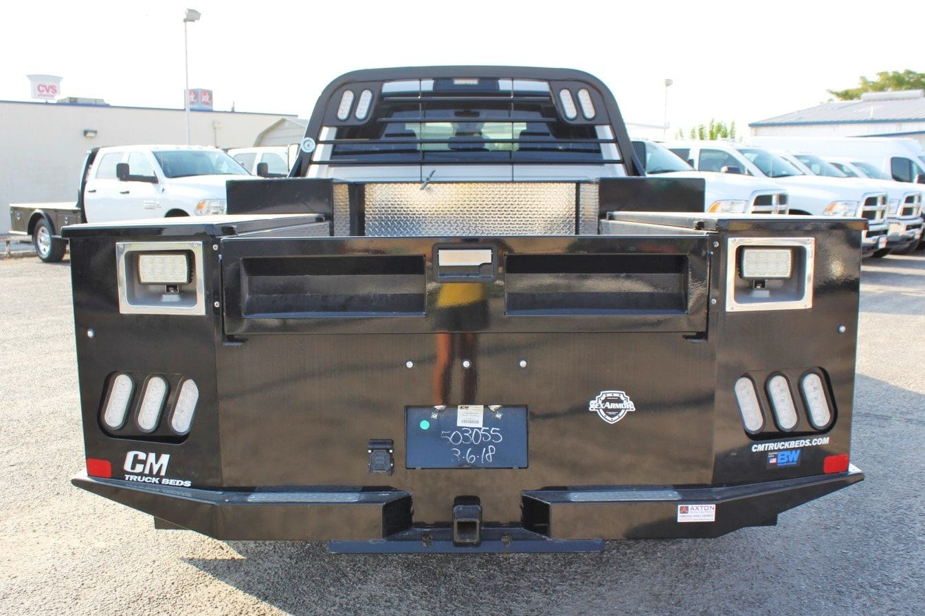 2018 Ram 3500 Crew Cab DRW 4x4,  CM Truck Beds Flatbed #TG236892 - photo 11