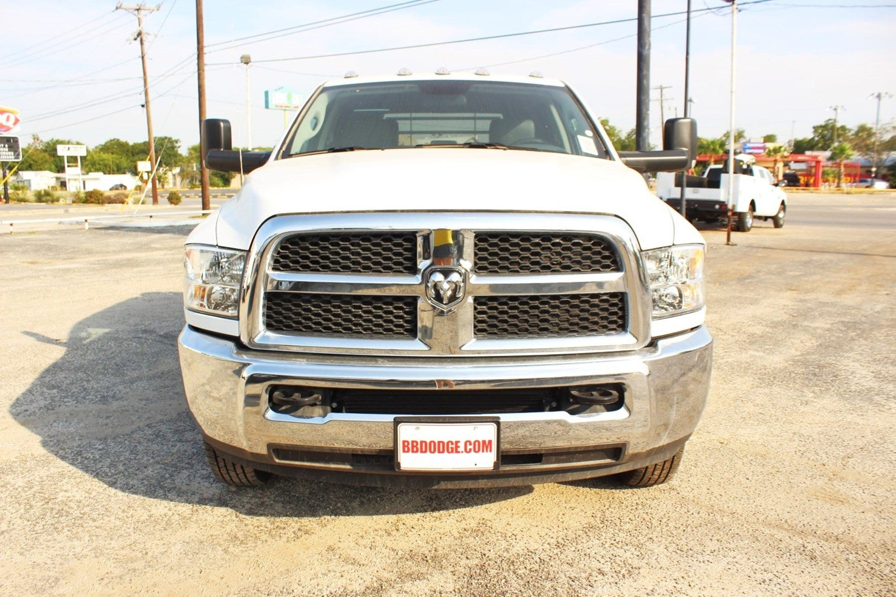 2018 Ram 3500 Crew Cab DRW 4x4,  CM Truck Beds Flatbed #TG236892 - photo 5