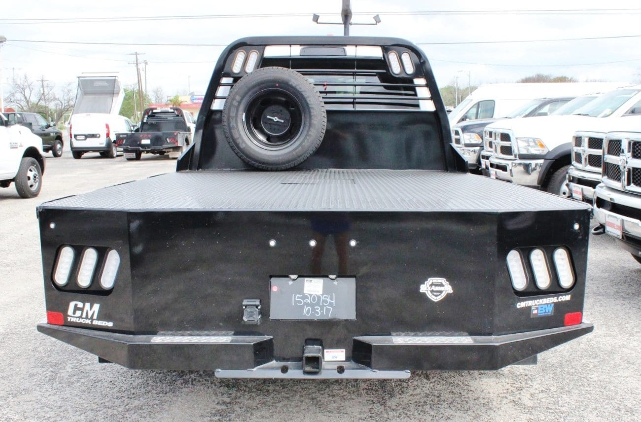 2018 Ram 3500 Crew Cab DRW 4x4, Flatbed #TG236898 - photo 12
