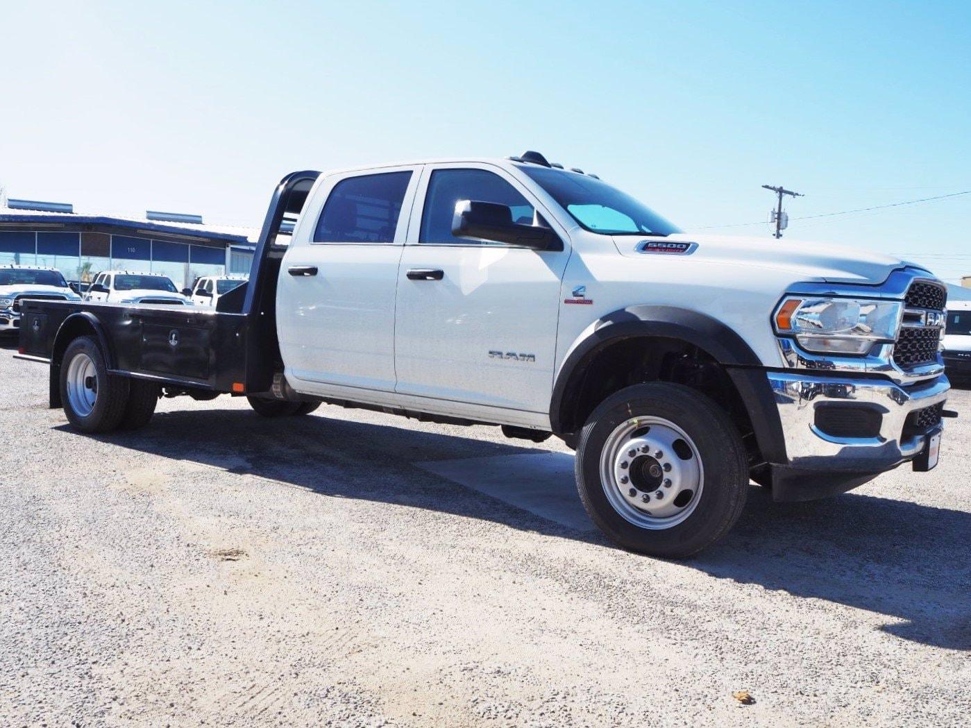 2020 Ram 5500 Crew Cab DRW 4x4, CM Truck Beds Platform Body #TG288994 - photo 1