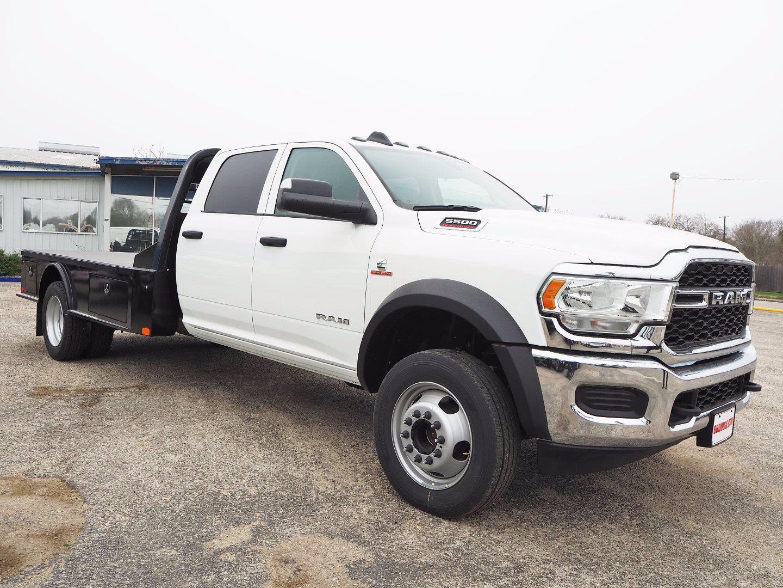 2020 Ram 5500 Crew Cab DRW 4x4, CM Truck Beds Platform Body #TG288997 - photo 1