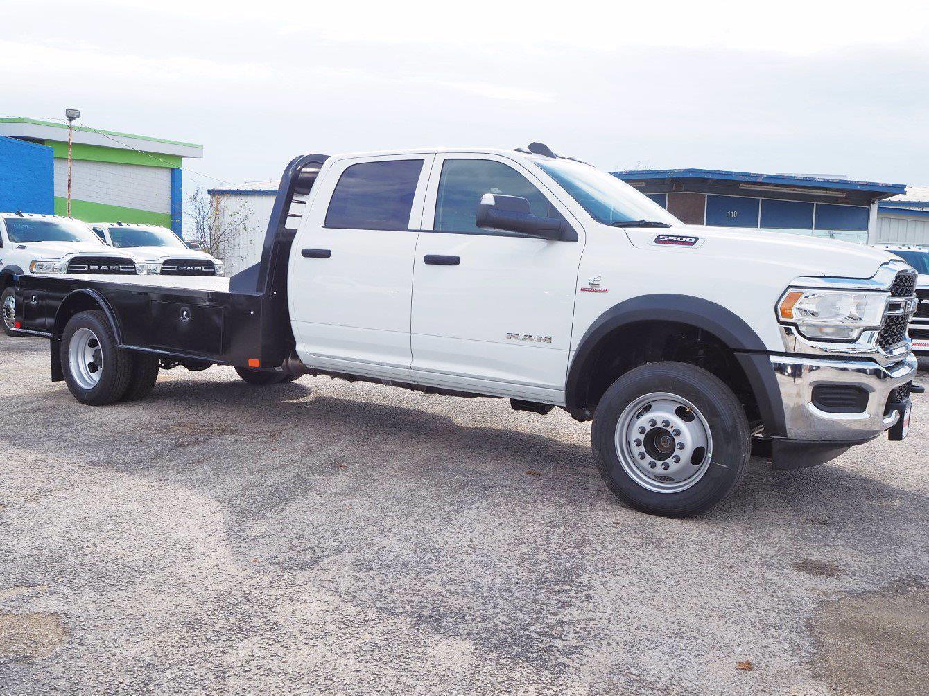 2020 Ram 5500 Crew Cab DRW 4x4, CM Truck Beds Platform Body #TG289003 - photo 1
