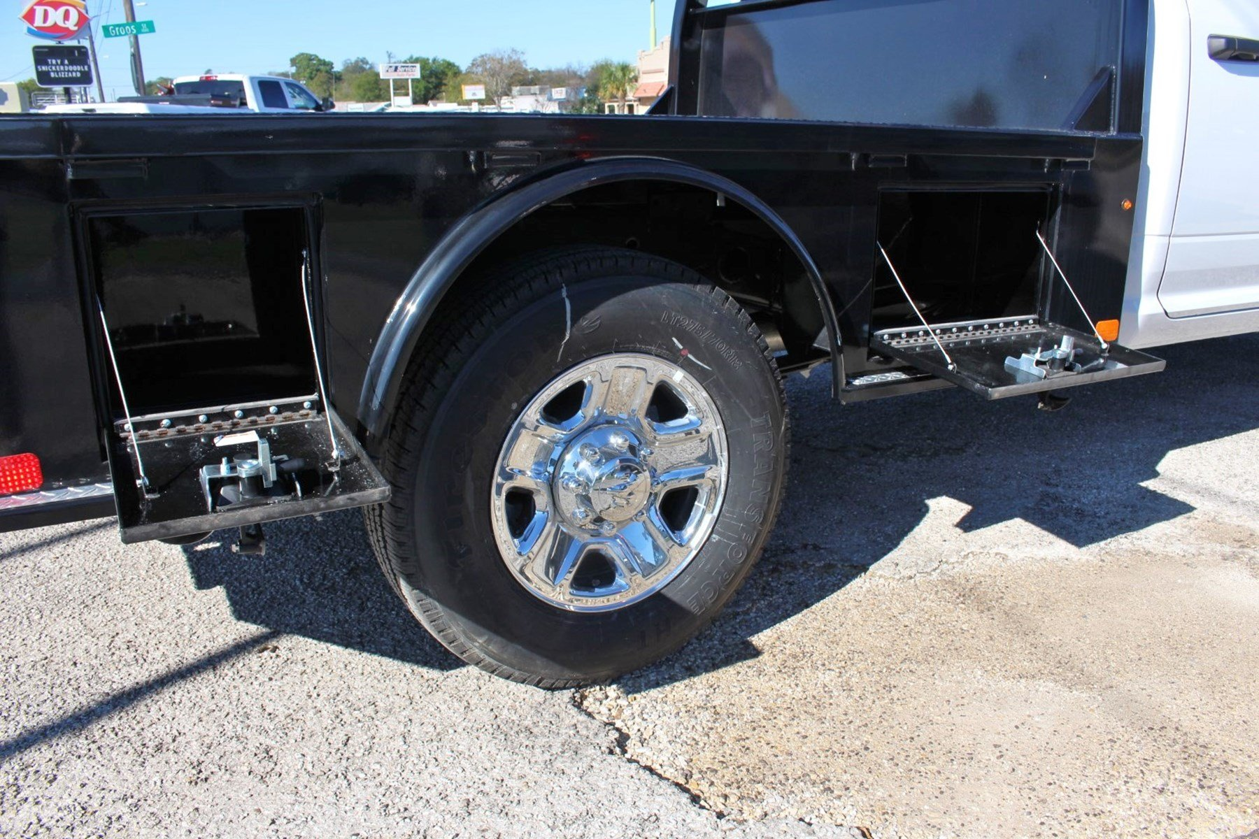 2018 Ram 3500 Crew Cab 4x4,  CM Truck Beds Flatbed #TG292465 - photo 11