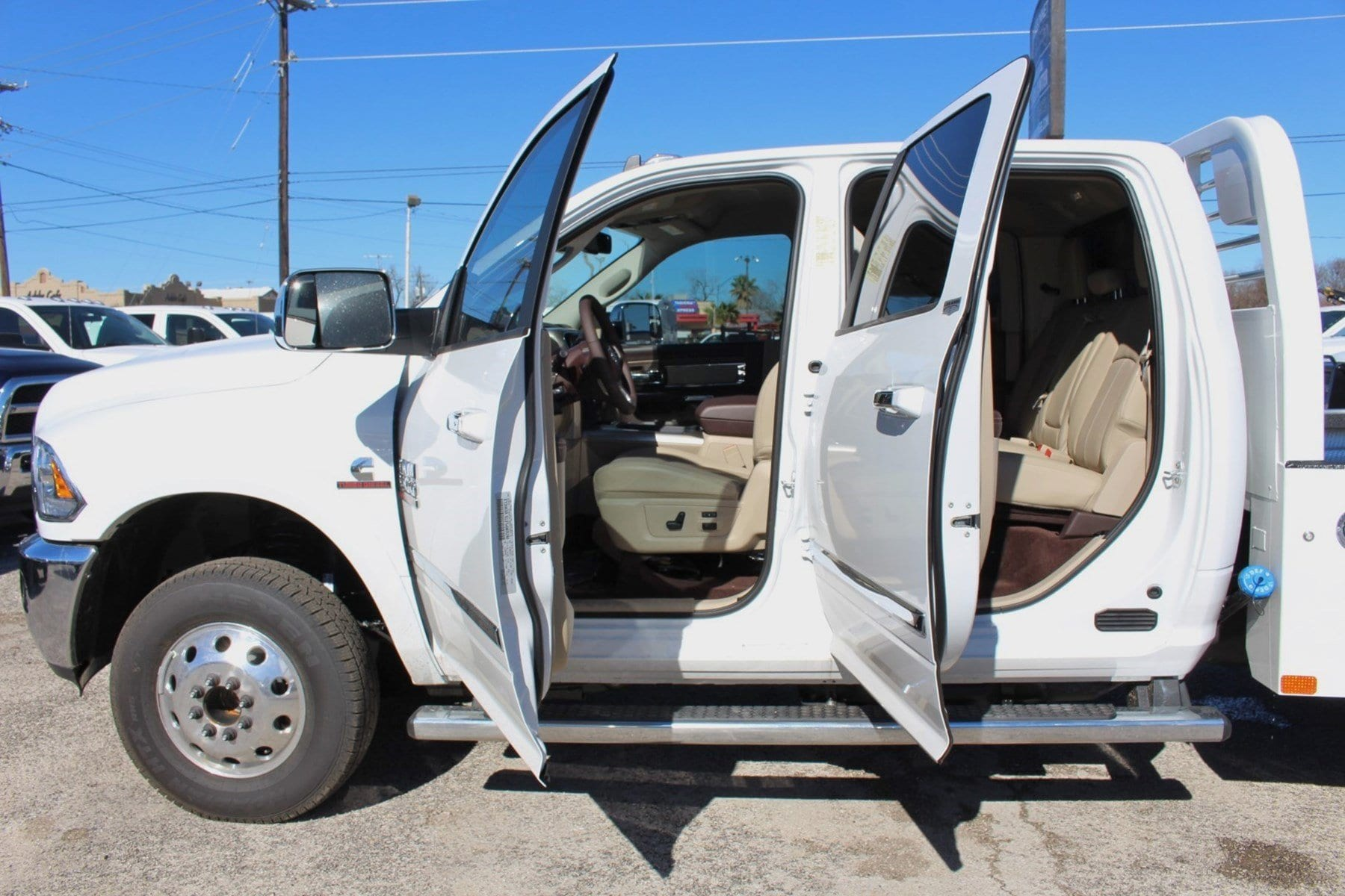 2018 Ram 3500 Crew Cab DRW 4x4,  CM Truck Beds Hauler Body #TG312495 - photo 12