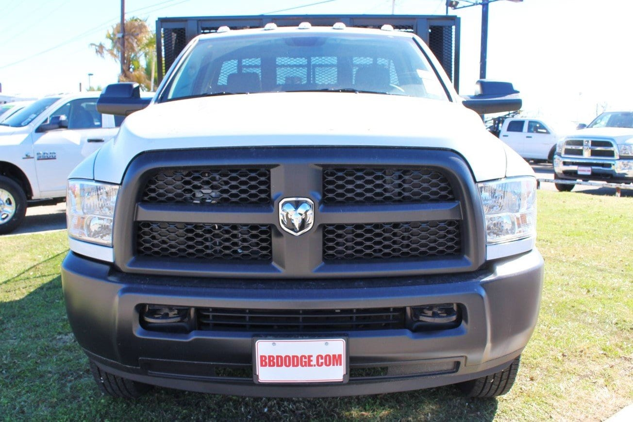 2018 Ram 3500 Regular Cab DRW 4x4,  Cadet Dovetail Landscape #TG312750 - photo 4