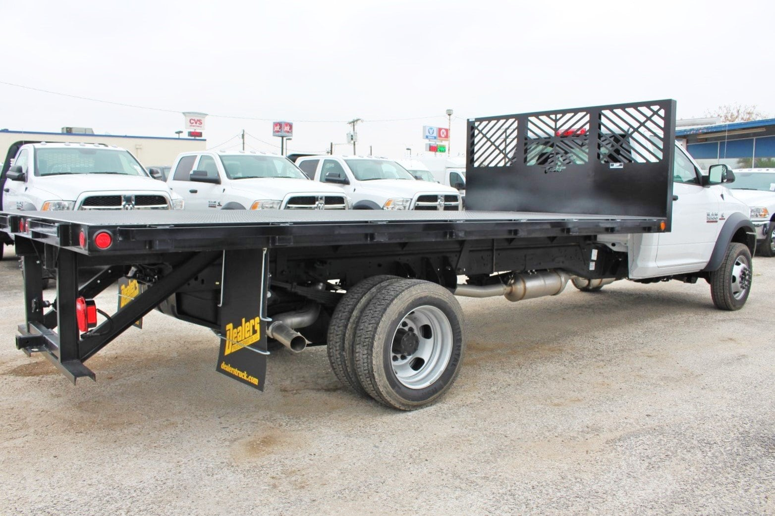 2018 Ram 5500 Regular Cab DRW 4x2,  Cadet Flatbed #TG317981 - photo 2