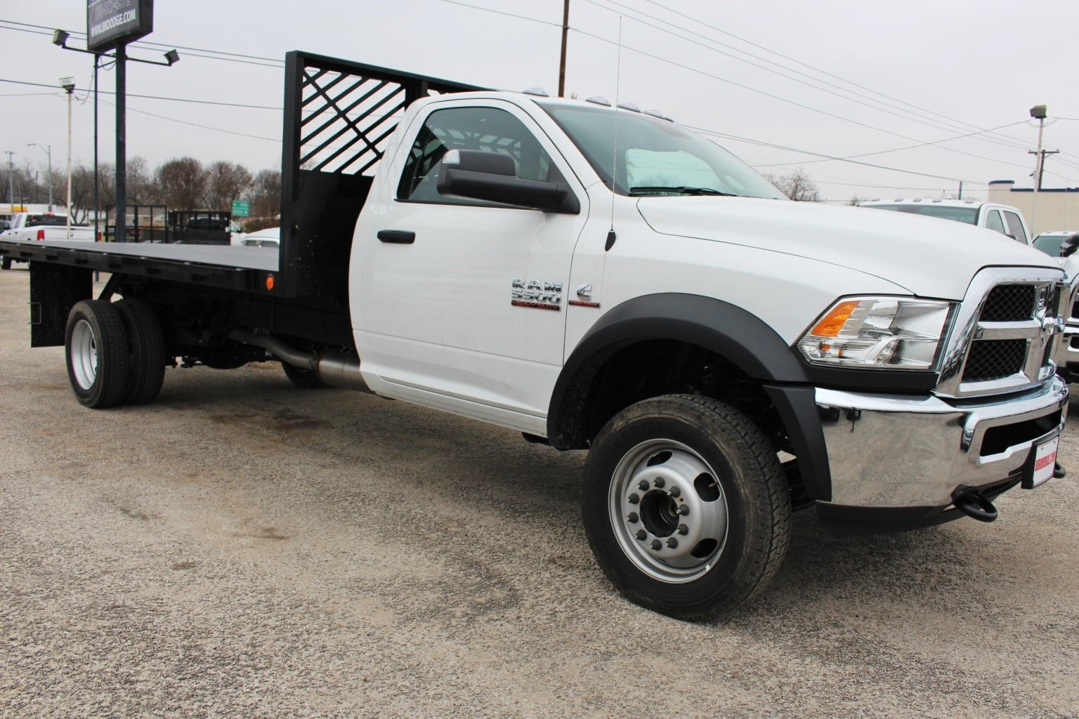New 2018 Ram 5500 Flatbed For Sale In New Braunfels Tx Tg317981