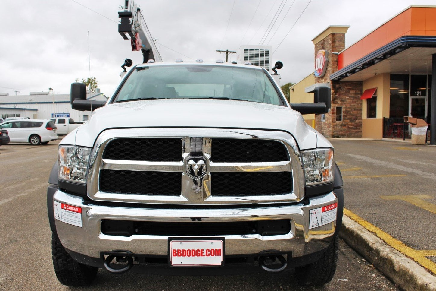2018 Ram 5500 Crew Cab DRW 4x4,  Service Body #TG321384 - photo 5