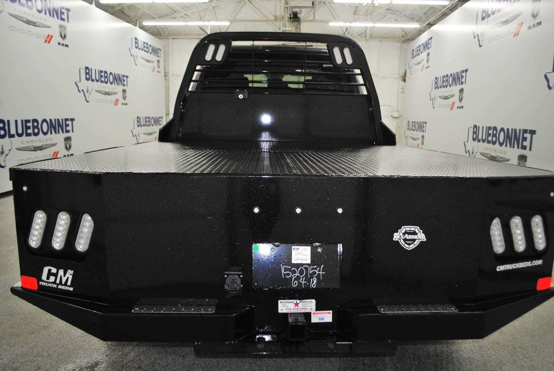 2018 Ram 3500 Crew Cab DRW 4x4,  CM Truck Beds Flatbed #TG325309 - photo 14