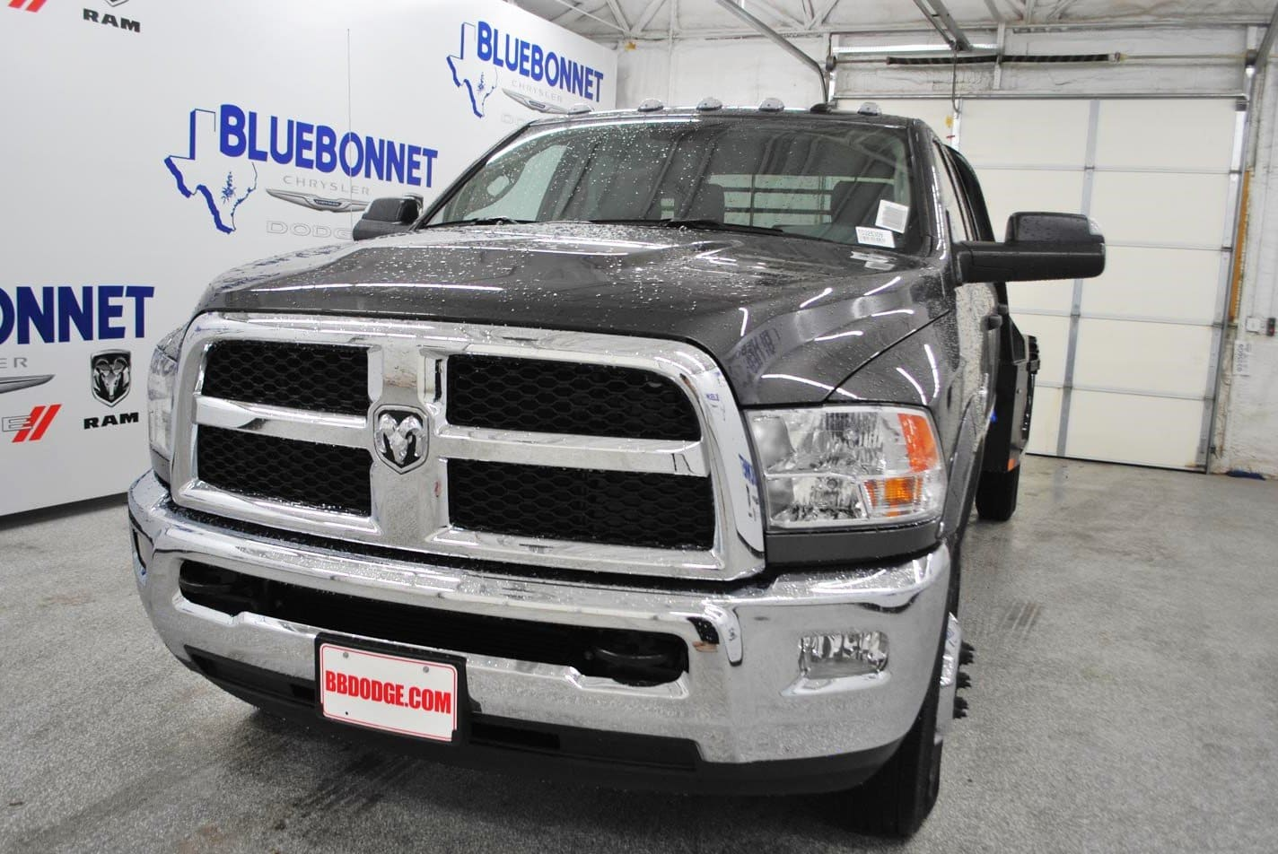 2018 Ram 3500 Crew Cab DRW 4x4,  CM Truck Beds Flatbed #TG325309 - photo 3