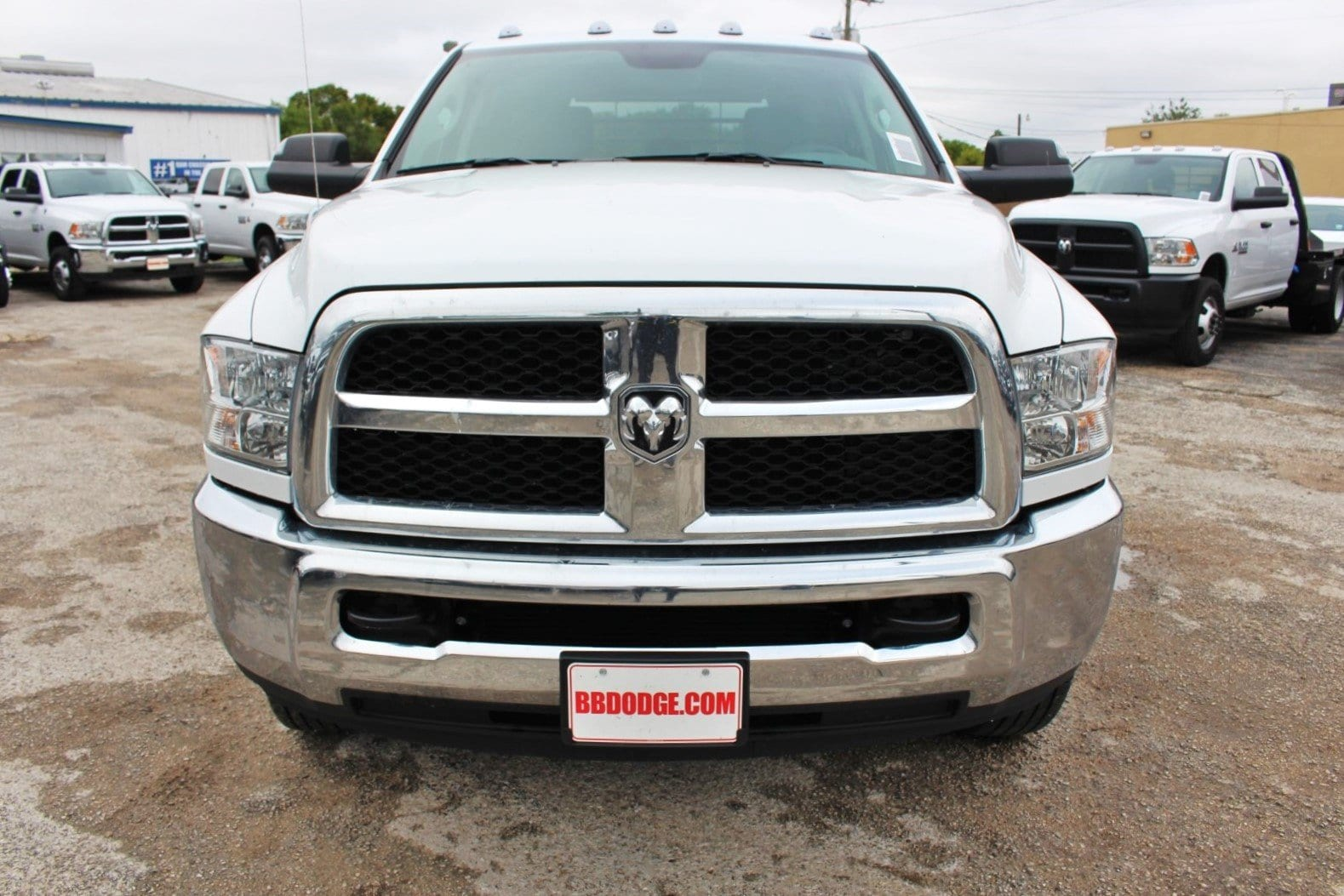 2018 Ram 3500 Crew Cab DRW 4x4,  CM Truck Beds Flatbed #TG325335 - photo 5