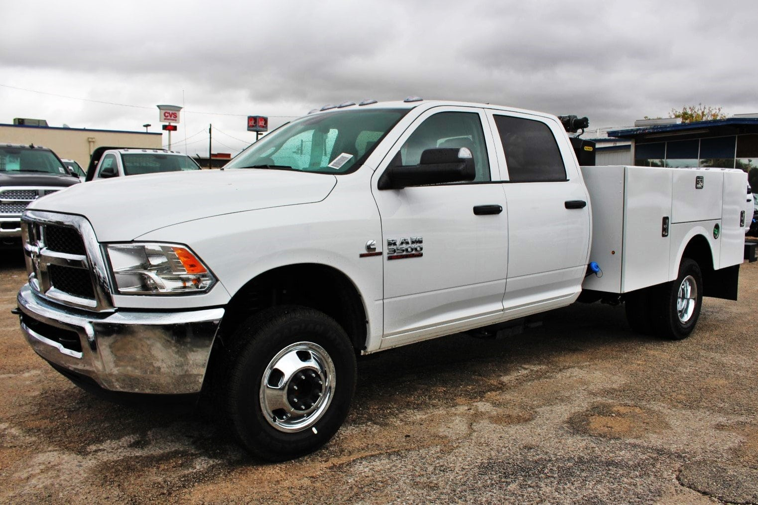 2018 Ram 3500 Crew Cab DRW 4x4,  Service Body #TG325343 - photo 4