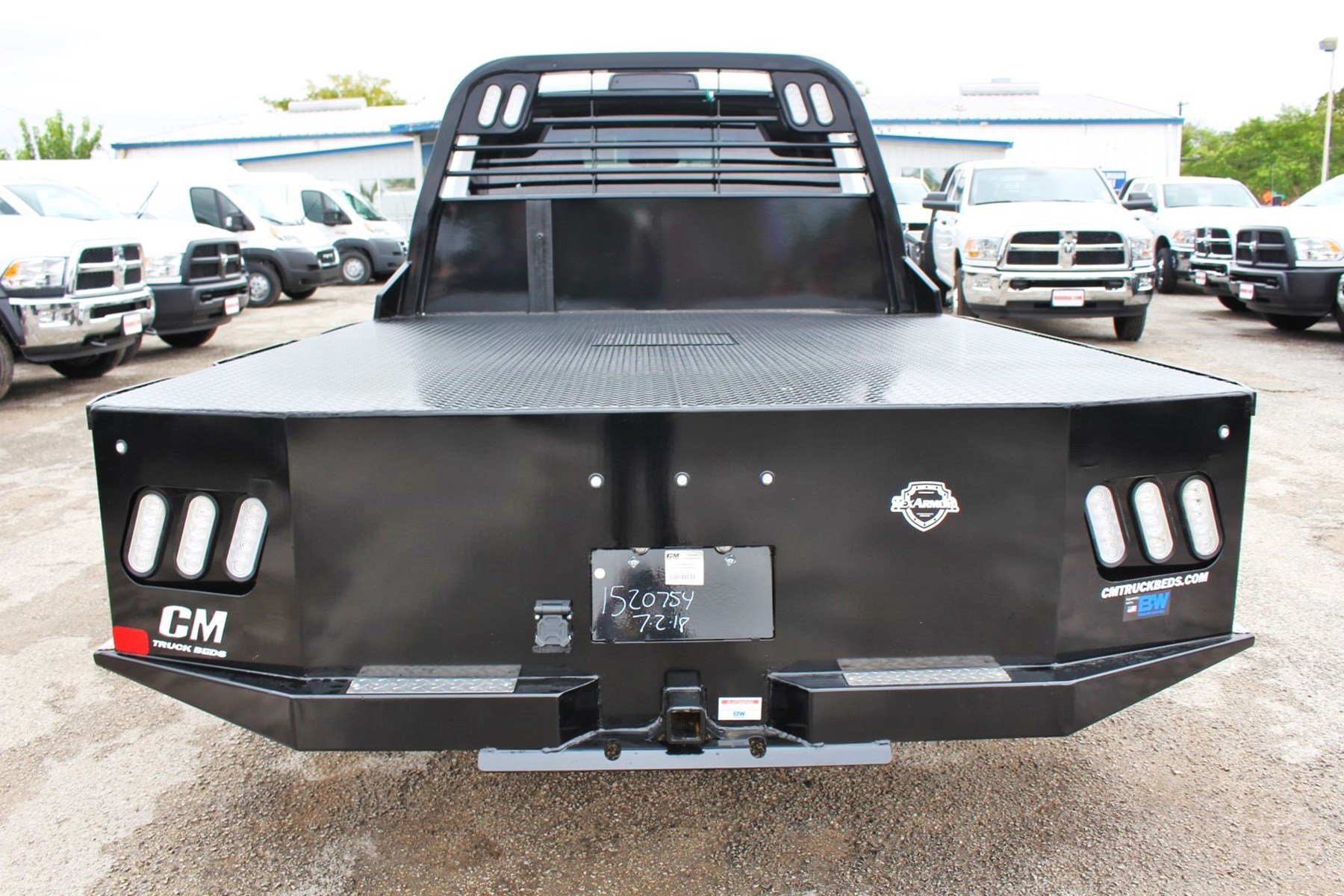 2018 Ram 3500 Crew Cab DRW 4x4,  CM Truck Beds Flatbed #TG335946 - photo 12