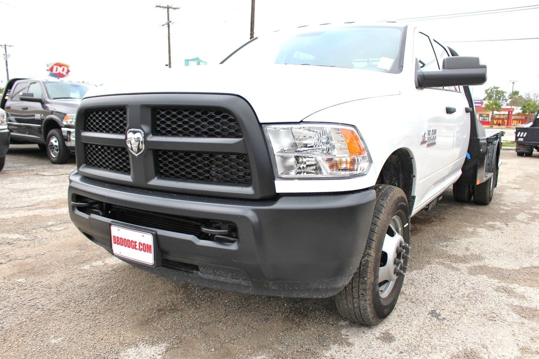 2018 Ram 3500 Crew Cab DRW 4x4,  CM Truck Beds Flatbed #TG335946 - photo 3