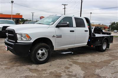 2018 Ram 3500 Crew Cab DRW 4x4,  CM Truck Beds SK Model Flatbed #TG335946 - photo 4