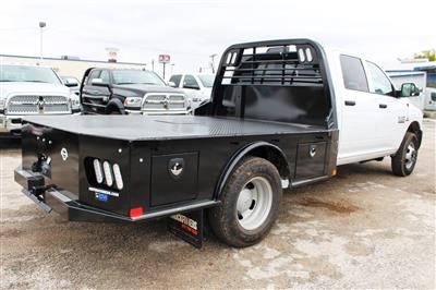 2018 Ram 3500 Crew Cab DRW 4x4,  CM Truck Beds SK Model Flatbed #TG335946 - photo 2
