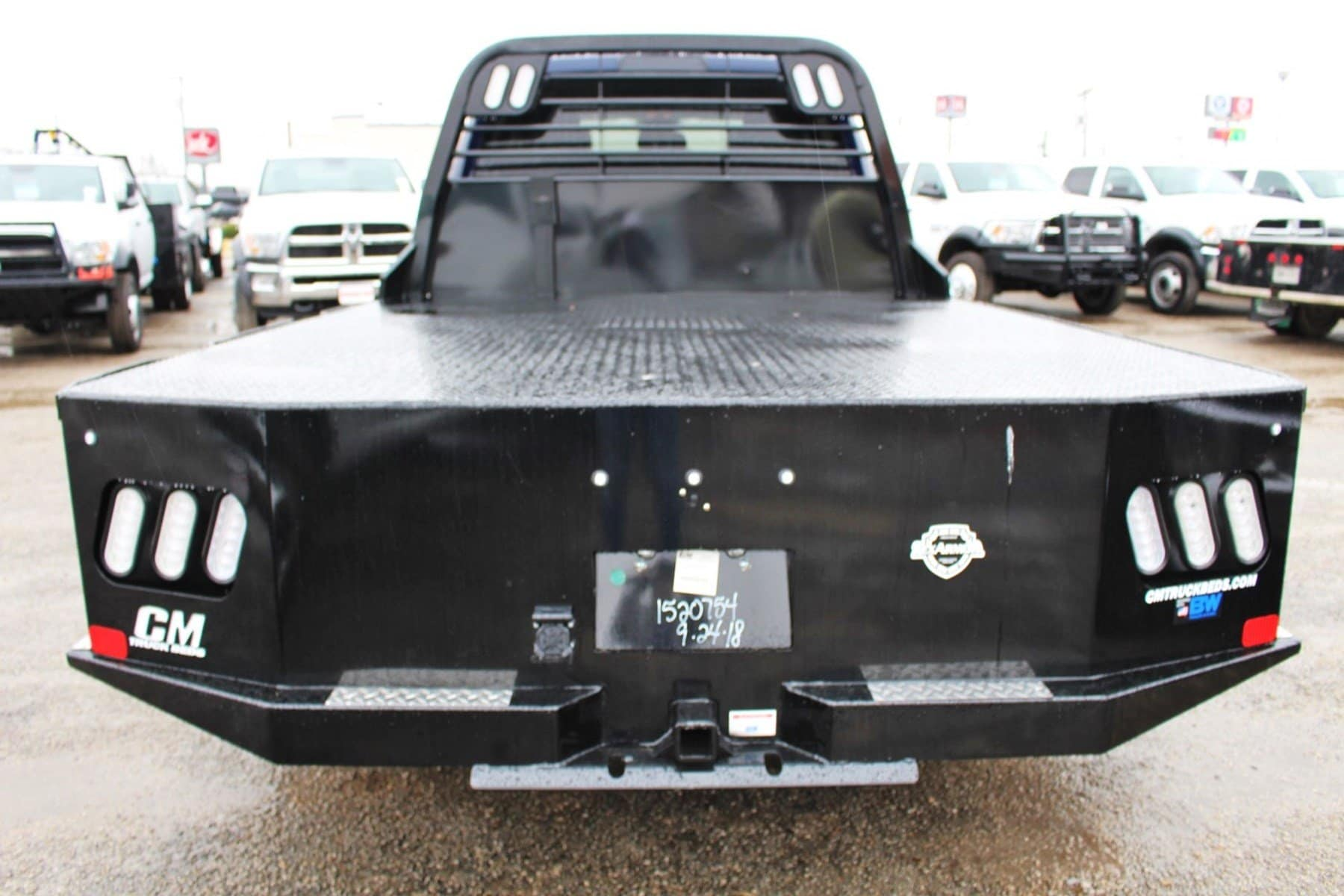 2018 Ram 3500 Crew Cab DRW 4x4,  CM Truck Beds Flatbed #TG340202 - photo 12