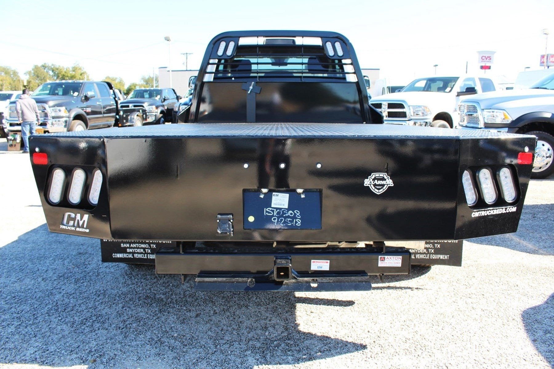 2018 Ram 3500 Regular Cab DRW 4x2,  CM Truck Beds Flatbed #TG362458 - photo 11