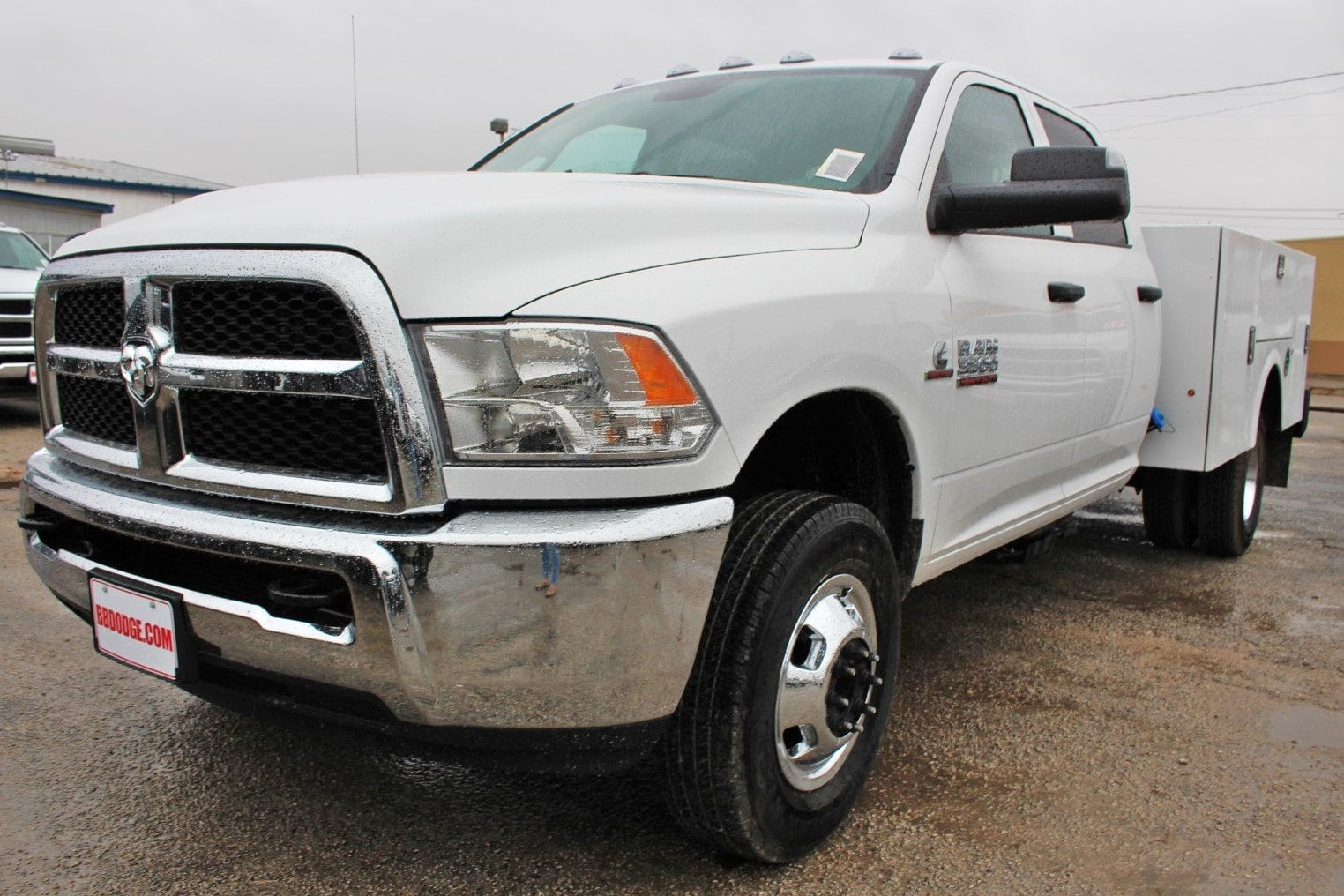 2018 Ram 3500 Crew Cab DRW 4x4,  Stahl Service Body #TG362774 - photo 3