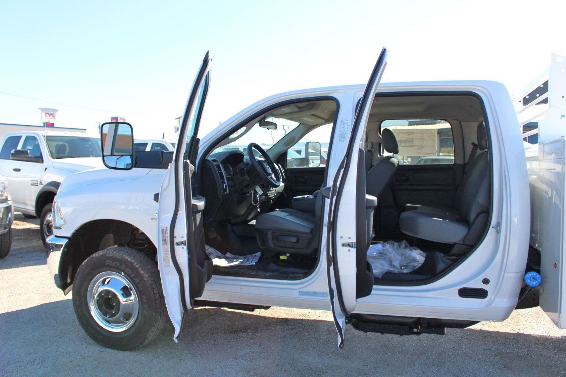 2018 Ram 3500 Crew Cab DRW 4x4,  Stahl Service Body #TG362789 - photo 13