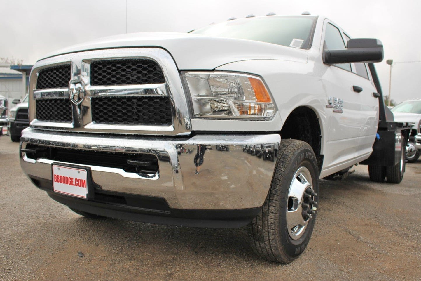 2018 Ram 3500 Crew Cab DRW 4x4,  CM Truck Beds Flatbed #TG362794 - photo 3